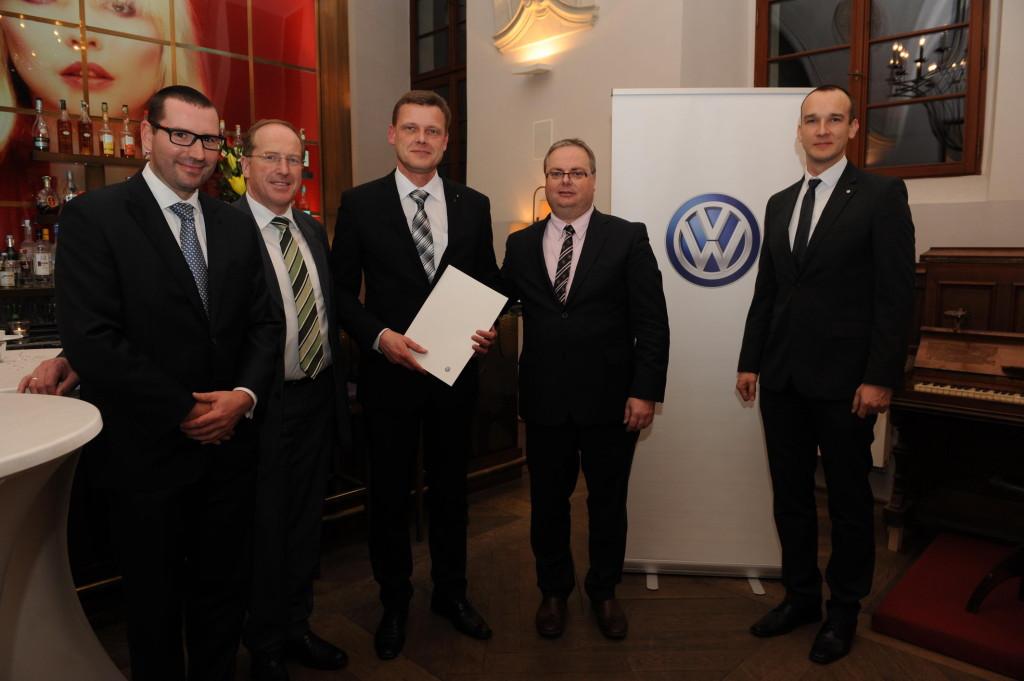 Ocenění má u Volkswagenu dlouhou tradici - předání cen v roce 2015