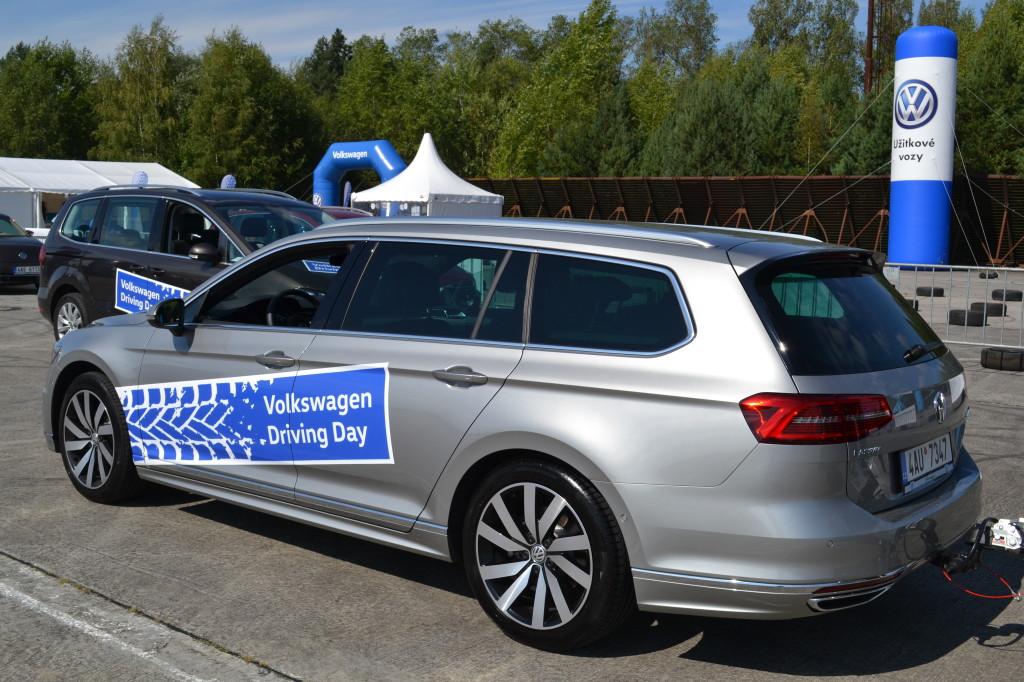 VW Passat Driving day