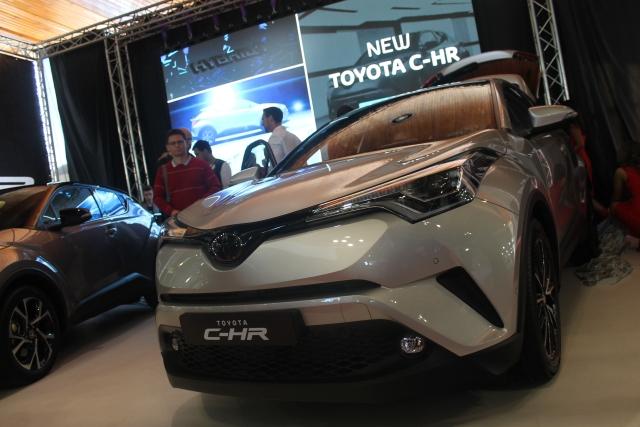 Autoshow 2016 Toyota C-HR