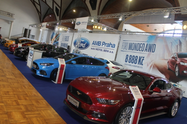 Autoshow 2016 expozice AMB