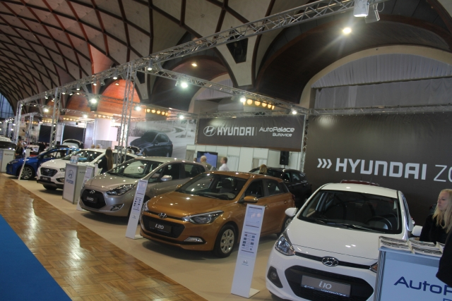 Autoshow 2016 expozice Auto Palace