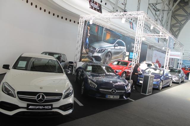 Autoshow 2016 expozice Mercedes Benz