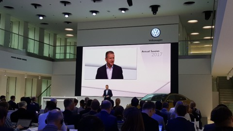VW annual meeting in Wolfsburg, May 2017