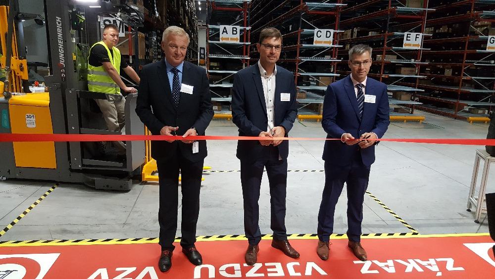 Continental nedávno otevřel v Brandýse nový sklad
