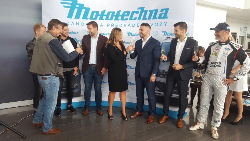 Vedení Mototechny oslavilo výročí na tiskovce 6. září 2017