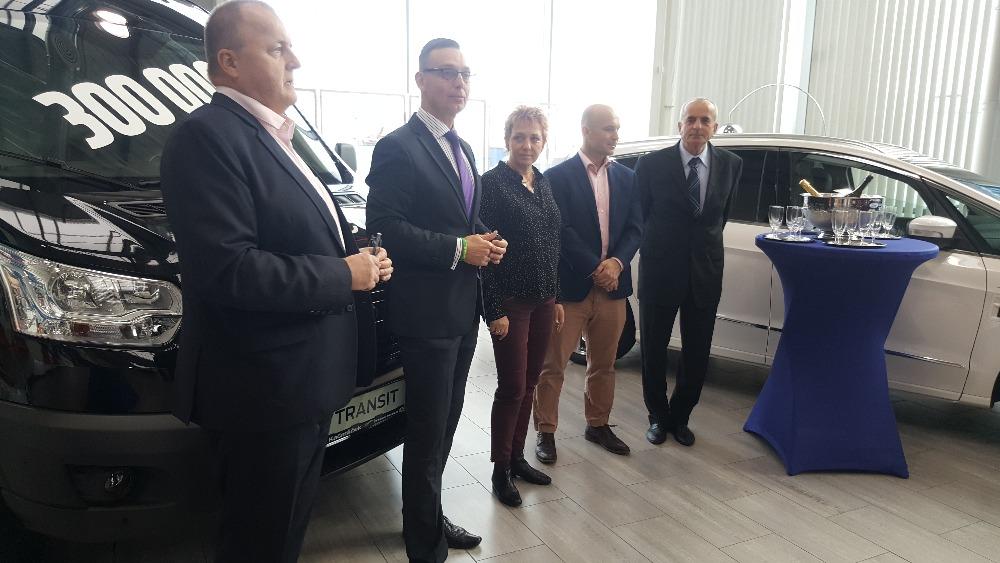 Ford Transit 30 000 Vestec 2017