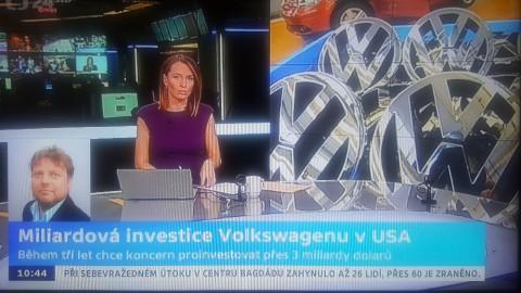 ČT 24 VW USA Handl
