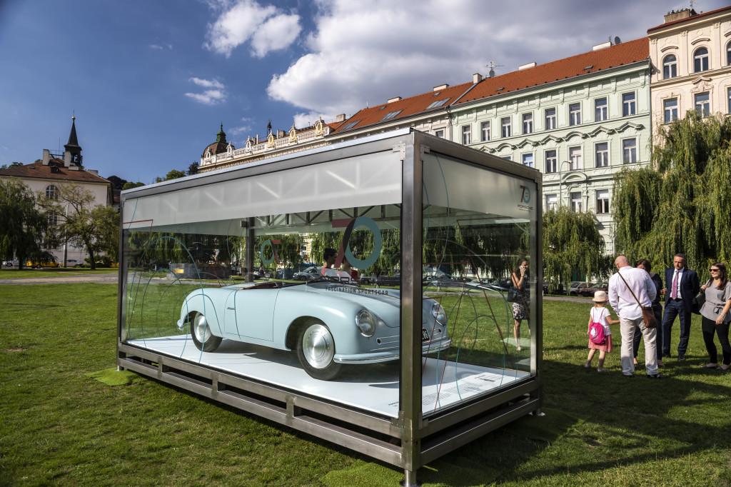 Porsche 70 let veterán Klárov