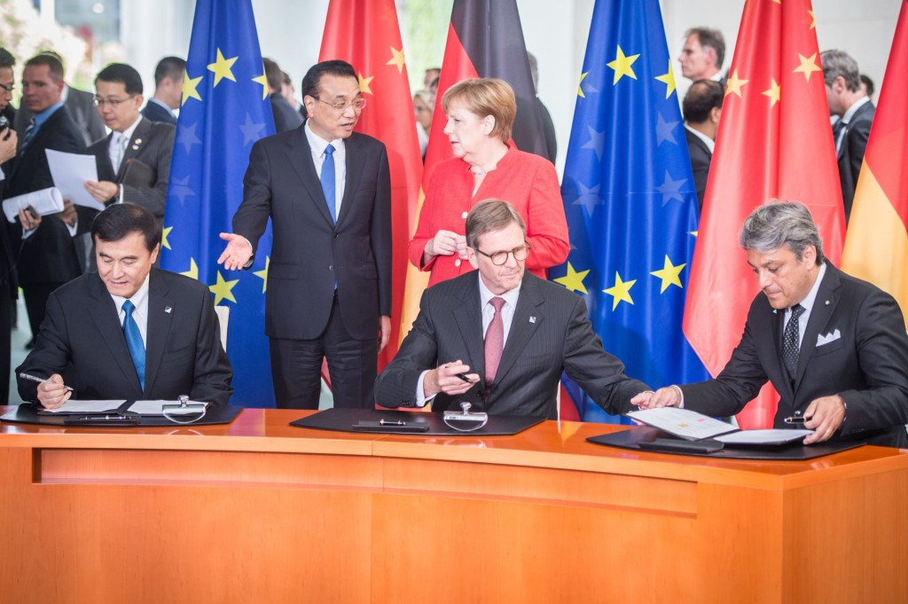 5. deutsch-chinesische Regierungskonsultationen