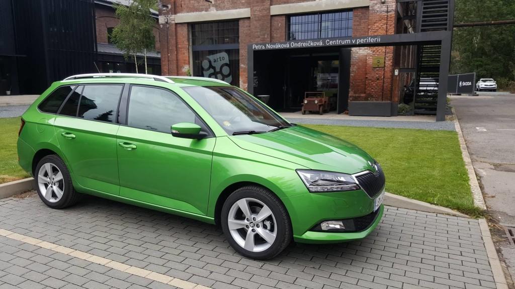 Škoda Fabia 2018 Libčice drátovka